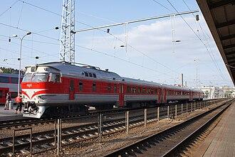 Rolling stock - Image: DR1A Vilnius