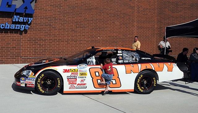 Dale Earnhardt Junior Race Car
