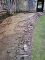 Damage to the Cloister path. - geograph.org.uk - 483718.jpg