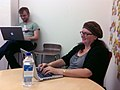 Danese cooper irc office hrs 2010 09 22.JPG