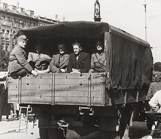 Operation Safari - Danish officers being detained on 29 August 1943