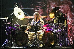 Synesthesia Mandala Drums - Danny Carey of Tool using 7 purple Mandala Drums