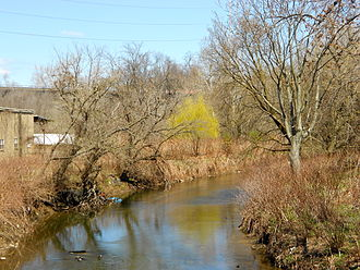 Darby Creek (Pennsylvania) - Darby Creek in Darby, Pennsylvania