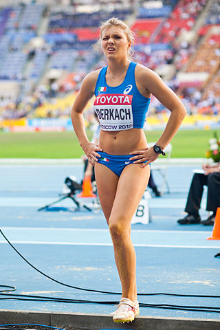 Dariya Derkach (2013 World Championships in Athletics) - 2.jpg