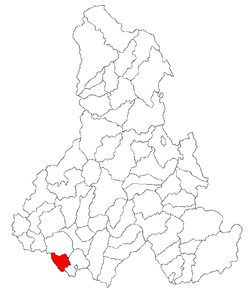 Location of Dârjiu