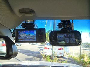 Dashcam - Image: Dashcams P1210466