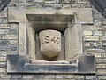 Date stone on the (former) Wolsingham Station building - geograph.org.uk - 1581040.jpg