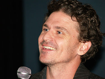 Dave Eggers at the 2007 Brooklyn Book Festival.