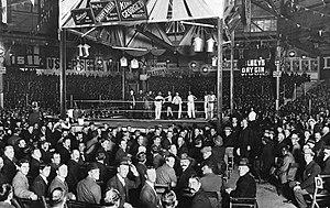Sydney Stadium - Dave Smith v Jerry Jerome at Sydney Stadium in April 1913