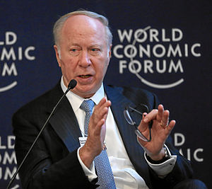 David Gergen - Image: David Gergen World Economic Forum 2013