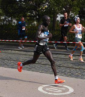 David Kemboi Kiyeng Kenyan marathon runner