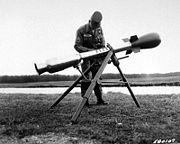 Súng cối Davy Crockett là loại vũ khí hạt nhân nhỏ nhất của Mỹ.