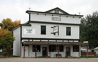 Dayton, Wyoming - Crochan's Hall, Dayton