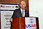December 16, 2014- Mission Director USAID Pakistan, Gregory Gottlieb while addressing the participants during the event (16034066155).jpg