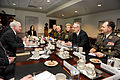 Defense.gov News Photo 110202-D-9880W-030 - Secretary of Defense Robert M. Gates left hosts bilateral security talks in the Pentagon with Croatian Defense Minister Davor Bozinovic 2nd from.jpg