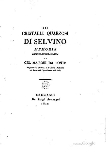 File:Dei cristalli quarzosi di Selvino.djvu