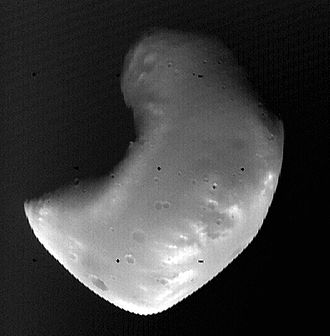 Deimos (moon) - Deimos (Viking 2, 5 October 1977)