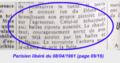 """Delbeke Raymond 1911-1961, (presse) 1961-04-08 """"...blessé mortellement...un chauffeur de taxi..."""" (Parisien libéré p. 09-16 extrait (annoté).png"""