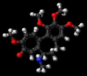 Demecolcine - Image: Demecolcine 3D ball