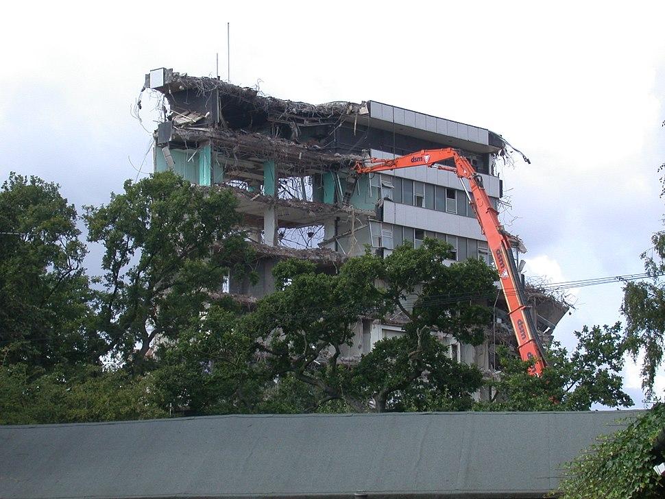 Demolition of BBC Pebble Mill, Birmingham - Andy Mabbett