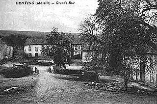 Denting Commune in Grand Est, France