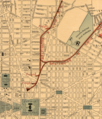 Detail of a 1893 Map of Washington, DC showing the B&O Railway lines.png