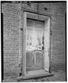 Detail of door on south side looking north - Crossan House, 1591 Pulaski Highway, Bear, New Castle County, DE HABS DEL,2-BEAR.V,1-2.tif