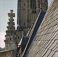 Detail van pinakels op het dak met leien - Deventer - 20383124 - RCE.jpg