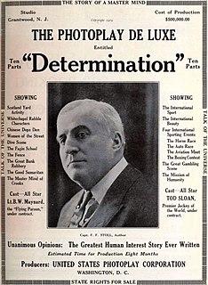 <i>Determination</i> (film) 1922 American film directed by Joseph Levering