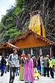 Devotees at Yamunotri Temple.jpg