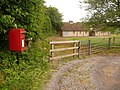 Dewlish, postbox No. DT2 151, Milborne Wood - geograph.org.uk - 1343315.jpg