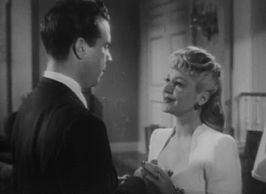 Dick Powell en Claire Trevor in Murder, My Sweet.