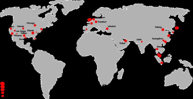 Liste Der Größten Flughäfen Nach Passagieraufkommen