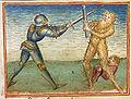 Dietrich im Kampf mit dem Wilden Mann, Stuttgart um 1470.jpg