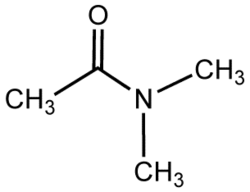 Dimethylacetamide (structure).png