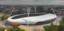 A birds eye view of the Stadium from June 2018.