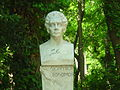 Dionysios Solomos by Thomas Thomopoulos, Athens - National Garden.JPG