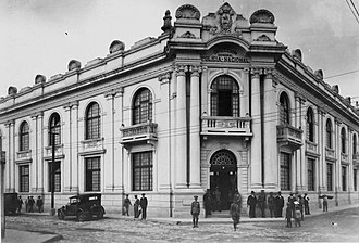 Jorge Ubico - National Police Headquarters during general Ubico regime. The Police Chief was colonel Roderico Anzueto, personal friend of president Ubico.