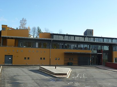 How to get to Disen Skole with public transit - About the place