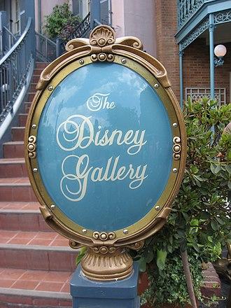 The Disney Gallery - Image: Disneyland Gallerysign