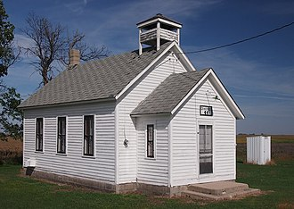 Traverse County, Minnesota - Image: District No. 44 School