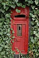 Disused letterbox, Callow End - geograph.org.uk - 1607146.jpg