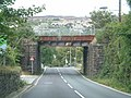 Disused railway bridge - geograph.org.uk - 558138.jpg