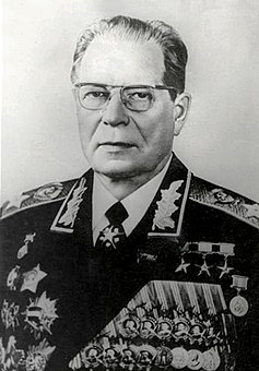 Dmitry Ustinov Soviet military commander and politician