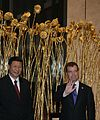 Dmitry Medvedev in China 28 September 2010-11.jpeg