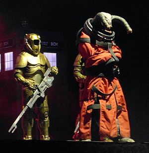 Time Heist - The Teller and its guards, shown here at the Doctor Who Symphonic Spectacular.
