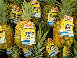 Dole Food Company - Fresh ripe Dole pineapples (Philippines)