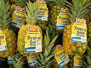 Dole Food Company - Fresh ripe Dole pineapples (Philippines)