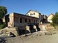 Dolní Černošice, Blukský mlýn, rekonstrukce elektrárny (01).jpg