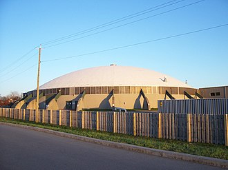 The Dome Center - Image: Dome Arena Exerior Northwest View